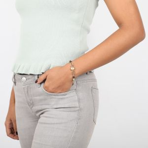 MYLENE brownlip cab bracelet