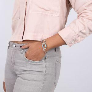 CLOE 2-oval bracelet