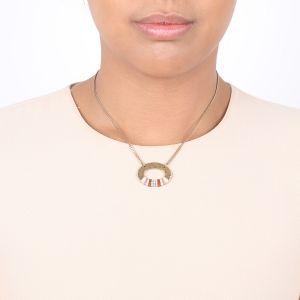 DEBORAH Collar corto ovalado
