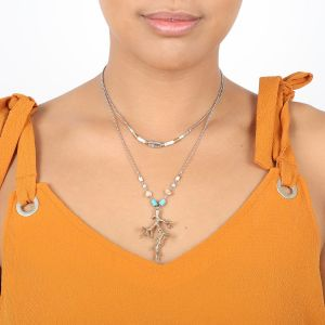 NAHIA 2 in 1 necklace