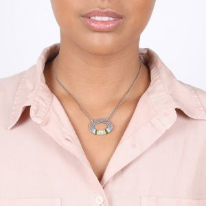 CLOE small oval necklace