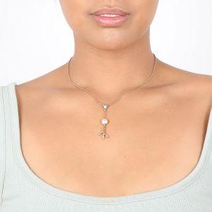 KIM collier pendentif cabochon perle