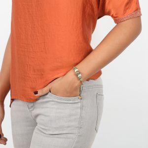 SOLENE cuff bracelet w/lock