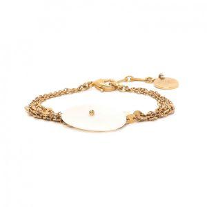 APRIL bracelet fin en Nacre