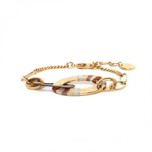 DEBORAH bracelet 2 anneaux