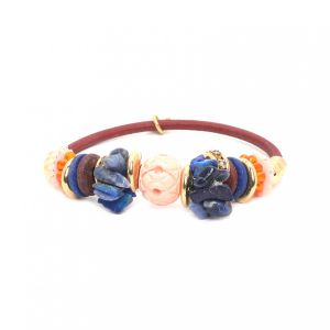 BELLA beaded sandow bracelet