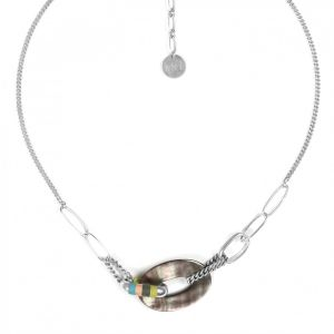 CLOE blacklip center necklace