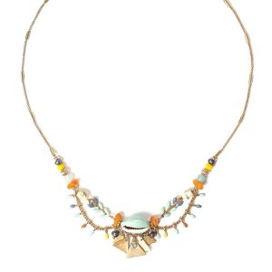 SIENNA 3 loop necklace