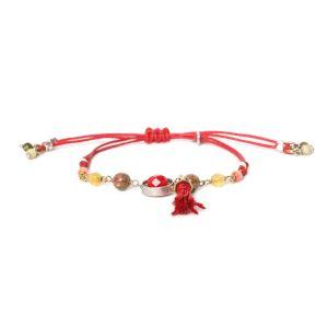 COMPLICES-JANNA  bracelet macramé pompon