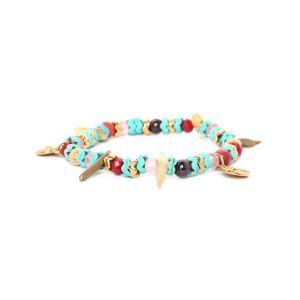 ANITA bracelet extensible perles zigzag
