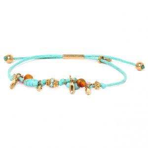 CAPUCINE bracelet cordon perlé