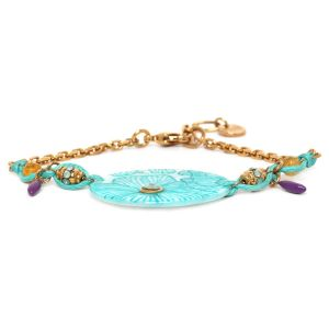 CAPUCINE big disc bracelet