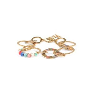CLARISSE interlaced rings bracelets