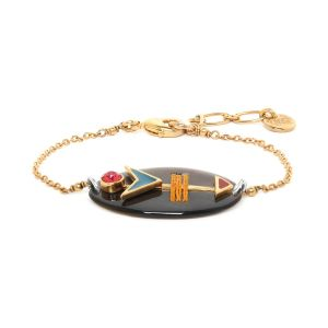 MOREEN bracelet Nacre & chainette
