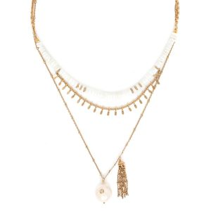 CONSTANCE layered necklace