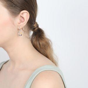 LISELLE boucles crochets mini anneau