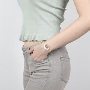 IRIS bracelet articulé macramé