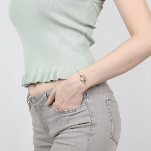 IRIS bracelet chaine fermoir mousqueton