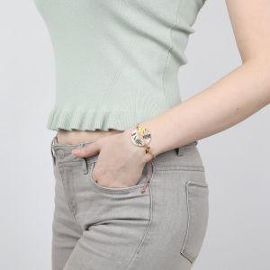 LAURETTE bracelet macramé articulé