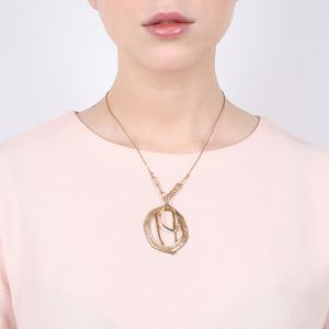 MELLY large oval necklace