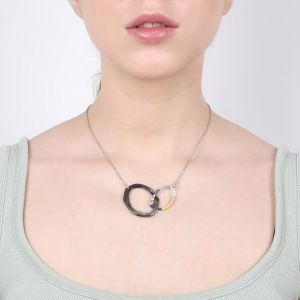 LISELLE inter-link oval necklace