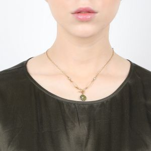 ANDREA FWP + coral branch necklace