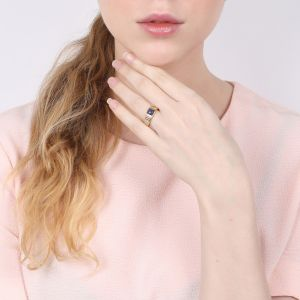 CLARISSE square top ring