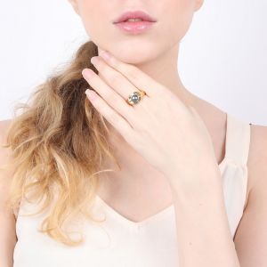 LILY bague perle de culture