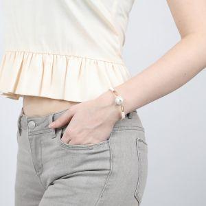 CONSTANCE bracelet extensible grosse perle