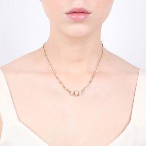 CONSTANCE collier extra fin doré à l'or fin