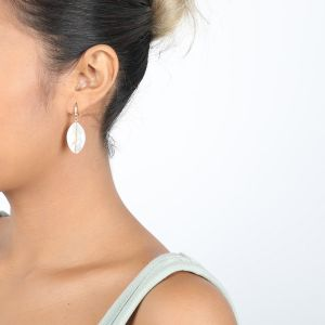 KIM boucles mini crochet en Nacre