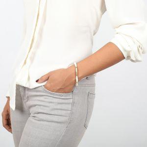 CLEMENCE bracelet extensible écru