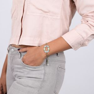 CLOE bracelet cordon 1 anneau