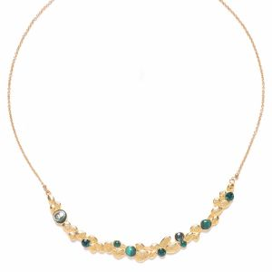BECKY arc short necklace(verte)