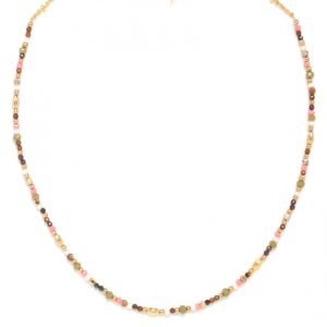 TAMARA collier court mini perles