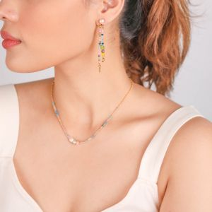 CAMILY fresh water pearl post earring