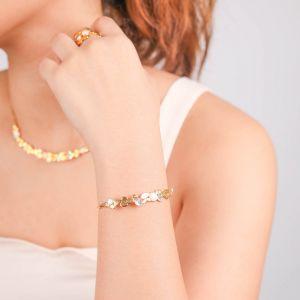 BECKY  bracelet jonc Nacre