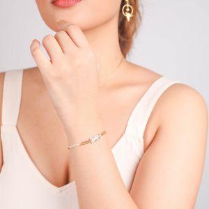 ABELHA  bracelet chaîne fermoir mousqueton