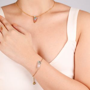 LILYBELLE single wing bracelet(pastel)