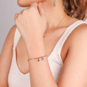 SACHA  bracelet grain de riz