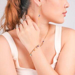 SACHA  bracelet multipampilles