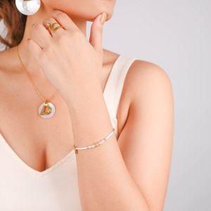 INES  bracelet extensible Perle de culture