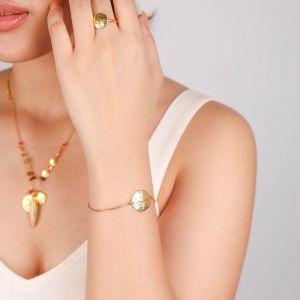 TIWA articulated bracelet