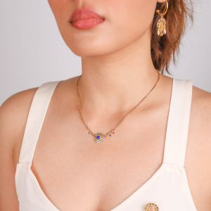 SACHA round thin necklace