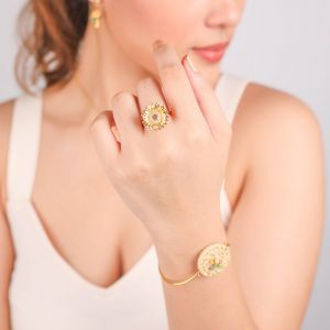 FELICIE sunflower ring