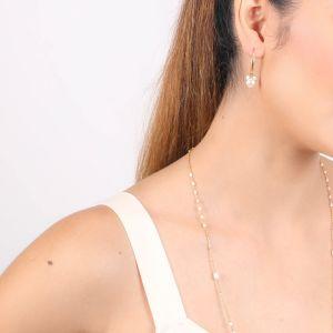 MARIA boucles d'oreilles mini BO crochet perles