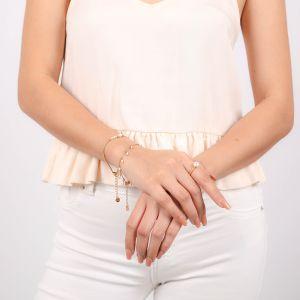 MARIA bracelet fermoir mousqueton petites perles d'eau douces