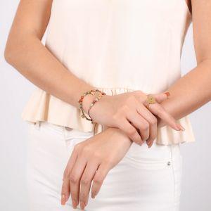AMOR bracelet extensible multi pampilles