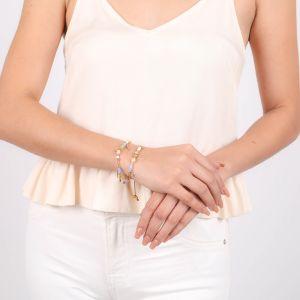 MYA dangle stretch bracelet