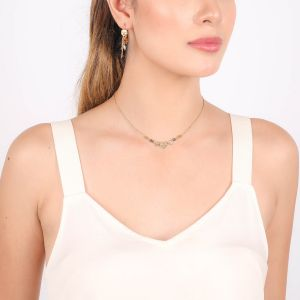 AMOR collier 3 p'tits coeurs
